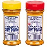 Blue Mountain Country Jamaican Curry and Hot Curry Powder, 6