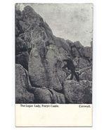 Vintage - The Logan Lady Rock, Treryn Castle,  United Kingdom - Unused  - $4.99
