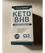 Purely Optimal Keto BHB Advanced Formulation 60 Caps - $19.75