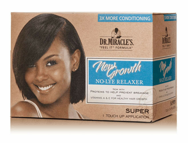 Primary image for Dr.Miracle's New Growth No-Lye Relaxer Kit 1 Application - Super
