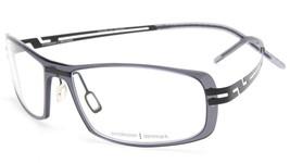 New Prodesign Denmark 6503 c.6535 Grey Dark Eyeglasses Frame 57-17-150 B32 Japan - $88.19