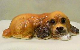 Vintage Lefton Cocker Spaniel Dog Figurine - $21.00
