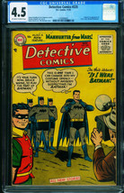Detective Comics #225 CGC 4.5 1955-BATMAN 1st Martian Manhunter 1250906001 - $6,111.00