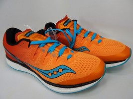 Saucony Freedom ISO Size 9 M (D) EU 42.5 Men's Running Shoes Orange S20355-8