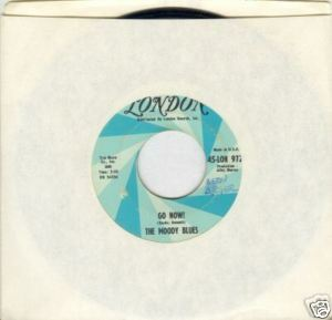 "The Moody Blues 45 rpm ""Go Now!"""