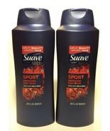 (2 Pack)Suave Men- SPORT Energizing BODY WASH - 28 oz each FB - $24.74