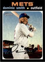2020 Topps Heritage Dominic Smith #386 New York Mets - $0.94