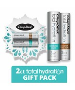 ChapStick Total Hydration Lip Balm Holiday Snowflake Gift Pack (Coconut ... - $10.99