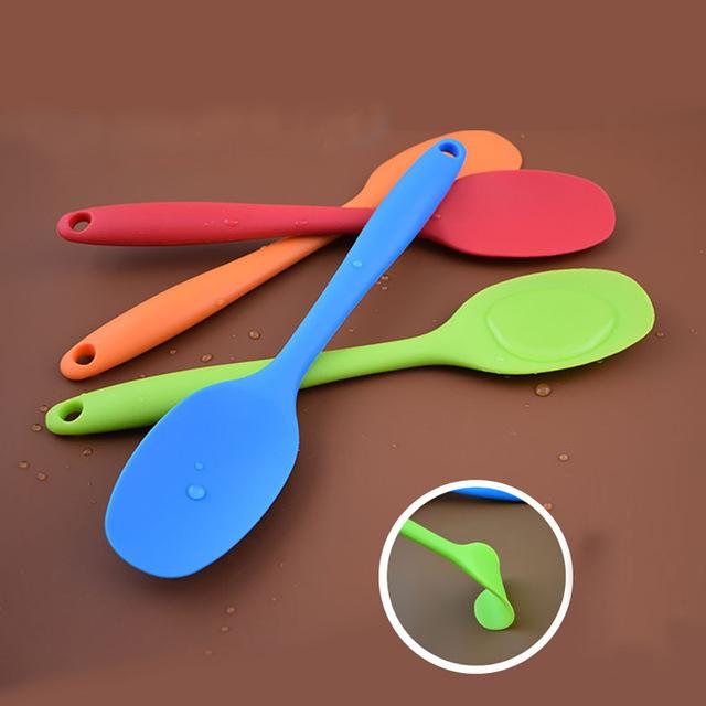 Primary image for Silicone Kitchen Bakeware Utencil Spoons And Scoop