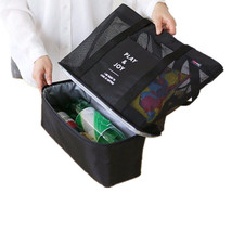 Insulated Storage Bag Organizer Clothing Food Container Double Layer Mes... - $20.99