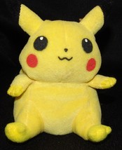 "Pokemon Pikachu 1998 Nintendo Hasbro Plush Stuffed Animal 5 1/2"" Toy - $18.20"