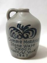 Vintage Comme Morntive Stone Ware Crock Hook / N.York 1867 - $14.80