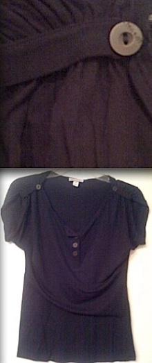 Paul   joe navy blouse