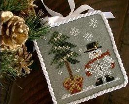 He's A Flake Ornament 2010 Series #3 cross stitch chart Little House Nee... - $5.40