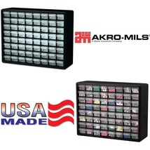Akro-Mils 10164 64 Drawer Plastic Parts Storage Hardware And Craft Cabin... - $52.95 CAD
