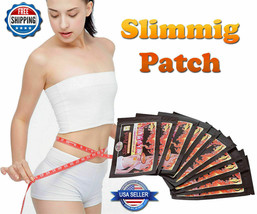 100 LOT FAST ACTING WEIGHT LOSS SLIM PATCH BURN FAT CELLULITE DIET SLIMM... - $12.86