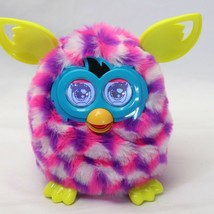 Furby Boom Interactive Toy 2012 Purple Pink White Block Pattern Guaranteed - $34.30