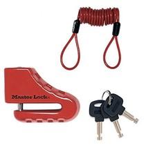 Master Lock 8303EURDPS Brake Disc Lock With Disc Cylinder 80 Mm - $29.00