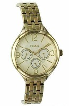 Fossil BQ3128 Multifunction Gold-Tone Stainless Steel Ladies Watch - $102.13