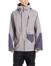 New Oakley Men's Hourglass 3 L Gore Jacket Grey M L Medium Large - $349.99