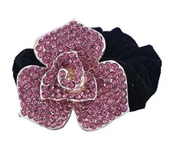 Fashion Rhinestone Hair Accessories Hair Rope Hair Ring Ponytail Holder #5 - $14.12