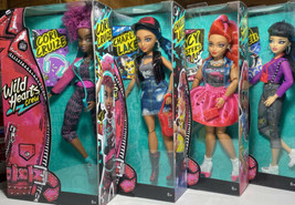 Wild Hearts Crew Dolls 4 Dolls All Different New In Box - $92.65