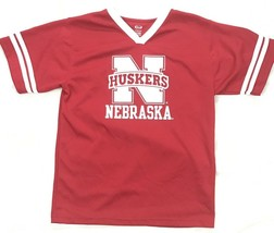 Nebraska Huskers jersey Red Short Sleeve NCAA Youth XL - $6.70