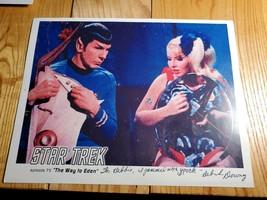 """Star Trek TOS Deborah Downey Autographed 8x10 Photo """"I Jammed W/ Spock"""" Way Eden - $49.50"""