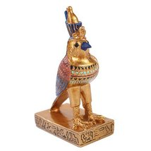 Egyptian Small Horus Mini Figurine Made of Polyresin - $9.89