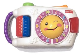 Fisher Price Laugh & Learn Talking Musical Flashing Toy Camera 2009 - $10.38