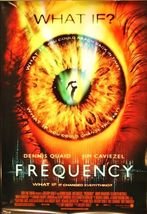 """2000 FREQUENCY Movie POSTER 27x40"""" Motion Picture Promo Dennis Quaid - $17.99"""