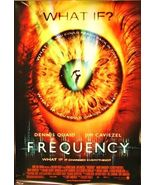 """2000 FREQUENCY Movie POSTER 27x40"""" Motion Picture Promo Dennis Quaid - $29.99"""