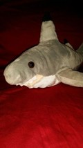 "19"" Grey Shark Plush Toy Stuffed Animal pellets - $28.70"