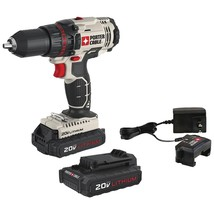 "Porter-cable 20-volt Max* 1 And 2"" Cordless Drill And Driver PORPCC... - $135.66"