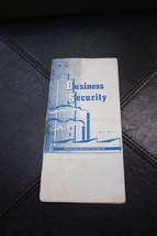 RARE 1949 Buy Sell Agreement Insurance Booklet for Executives - $39.99