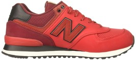 Classics Red White Balance Nb Shoes ML574GPE New Mens Ox64nRwp