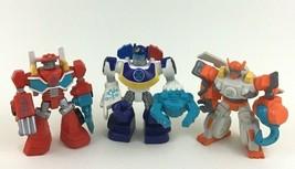 """Transformers Rescue Bots PVC 3.5"""" Figures 3pc Lot Chase Heatwave Blades ... - $15.10"""