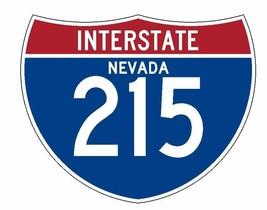 Interstate 215 Sticker R1992 Nevada Highway Sign Road Sign - $1.45+
