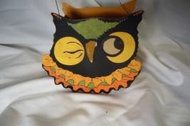 Bethany Lowe Sassy Owl  Halloween Bucket image 1
