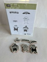 STAMPIN UP GOOGLY GHOULS Cling Stamp Set 128063 - $10.89