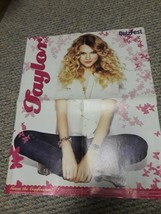 Taylor Swift/Vampire Diaries 15''x19'' Double Sided Poster QuizFest Maga... - $9.89