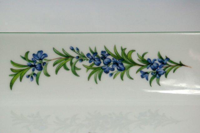 """Royal Worcester 2007 Worcester Herbs Sage 11"""" Baker Botanical Line image 4"""
