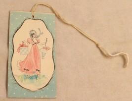 1930s era Man & Woman in Black Dress Bunko Tally Card - $14.84