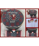 Santa Claus Shaker Box cross stitch chart by Mani Di Donna  - $13.50