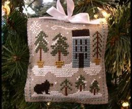 Snowy Pines Ornament 2010 Series #4 cross stitch chart Little House Need... - $5.40