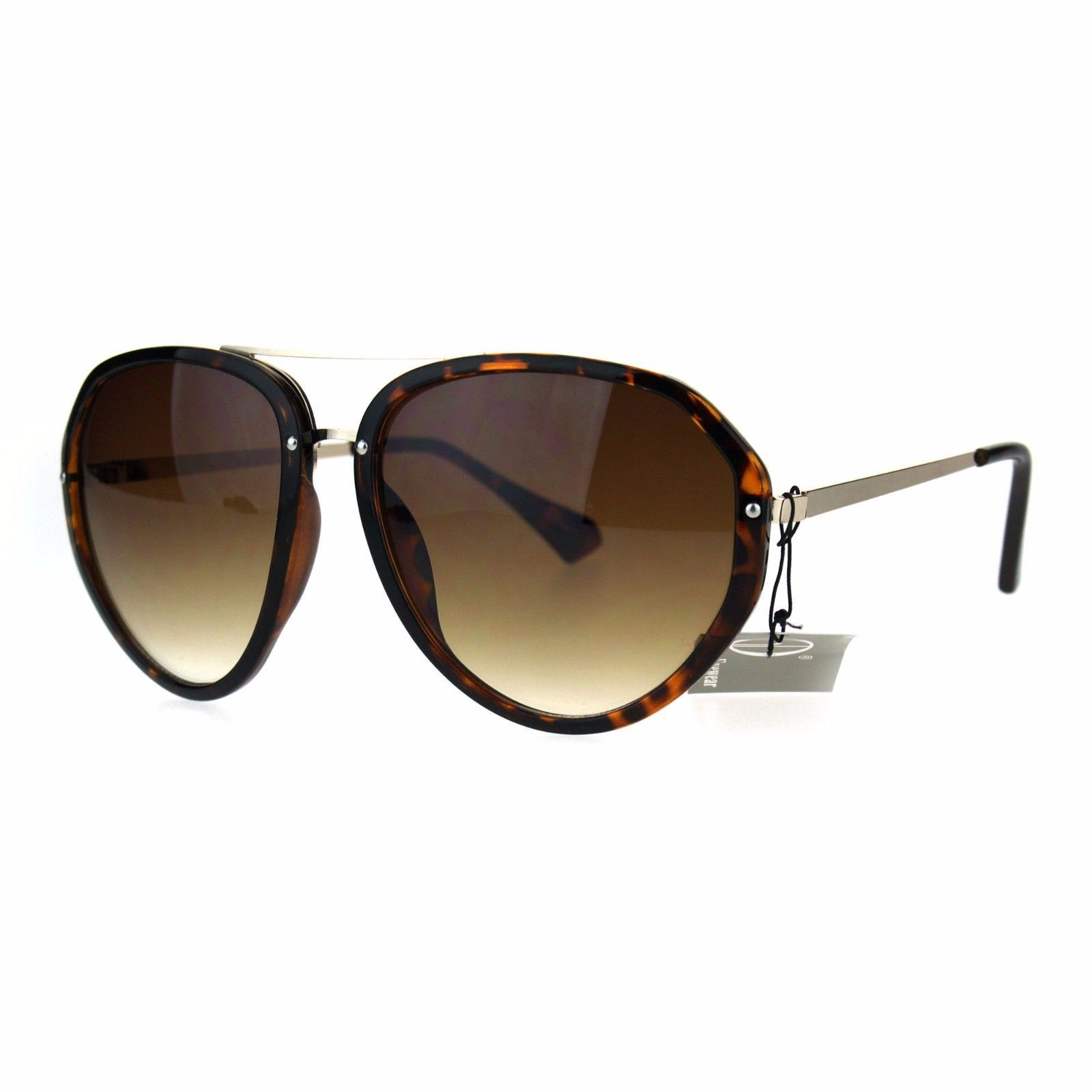 Retro Fashion Aviator Sunglasses Womens Designer Style Shades UV 400