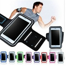 5.1 inch Gym Case for Samsung S5 S6 S7 Huawei P10 Sports Jogging ArmBand Bag - $4.29