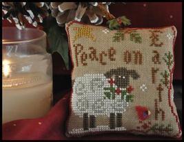 Winter Sheep Ornament 2010 Series #5 cross stitch chart Little House Nee... - $5.40