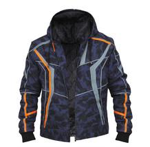 Avenger Infinity War Iron Man Jacket Tony Stark Camouflage Pattern Cotton Hoodie image 4