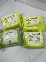 (4) Aveeno Positively Radiant Makeup Removing Wipes 25 Per Pack 100 total - $18.99